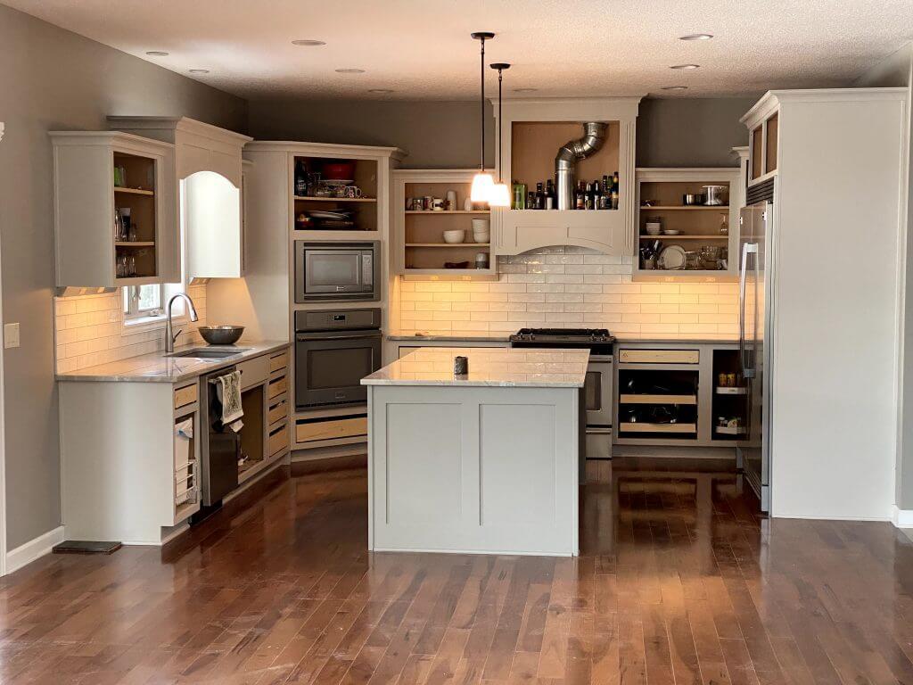 Hardwood in a Kitchen