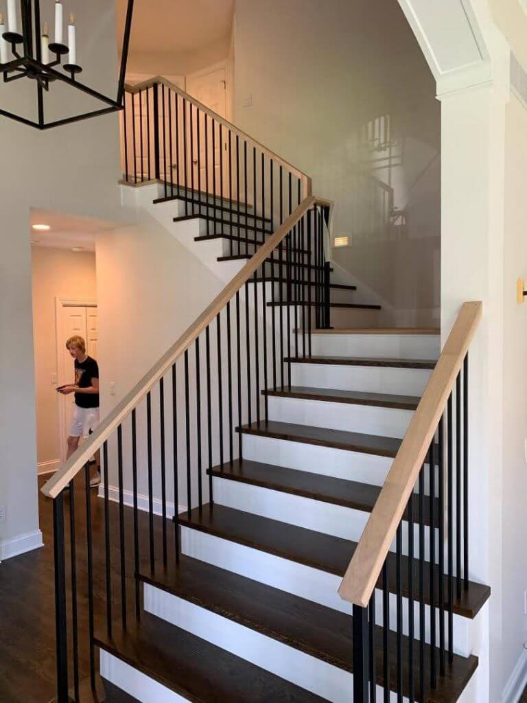 New Hardwood Staircase