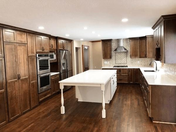 Hardwood Kitchen Remodeling