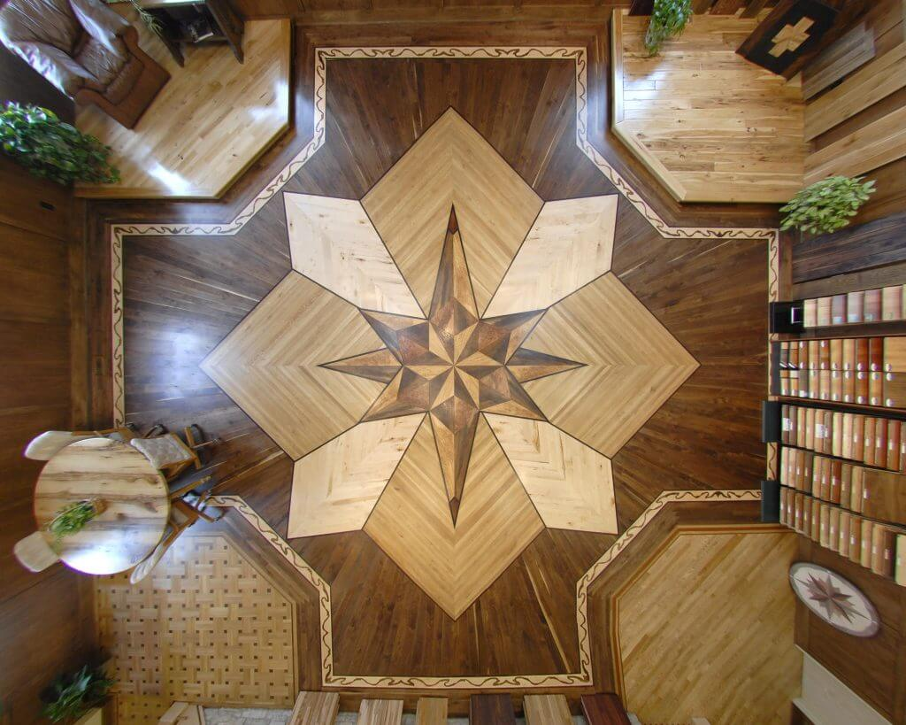 Barnum Floors Showroom Medallion