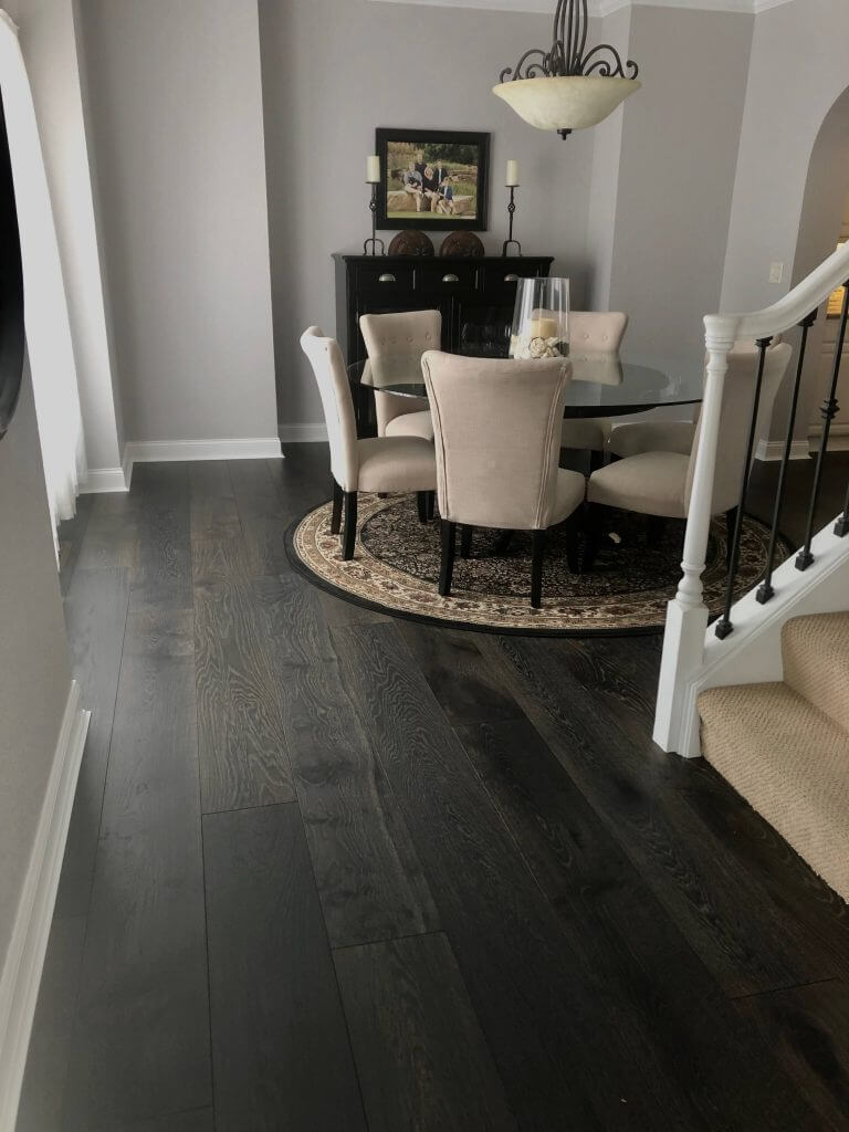 Pre-Finished Floor Dining Room