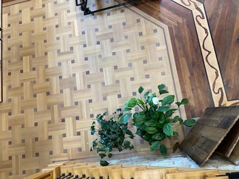 Basketweave Floor Pattern